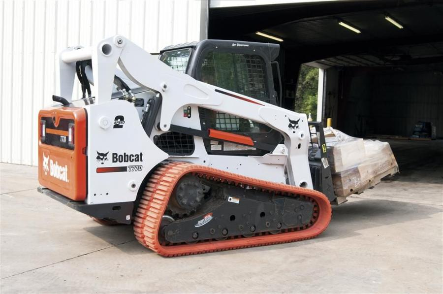 The tracks are designed to fit the T180, T190, 864, T200, T630, T650, T250, T300, T320, T770 and T870 compact track loaders, and the MT50 and MT52 mini-track loaders.