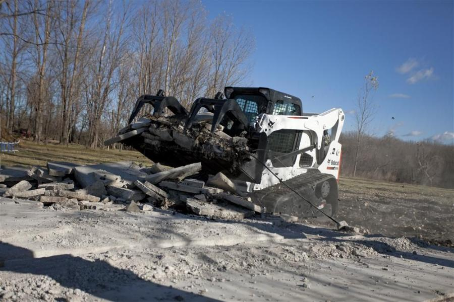 Bobcat's T750 Packs Increased Power in an Easy-to-Maneuver