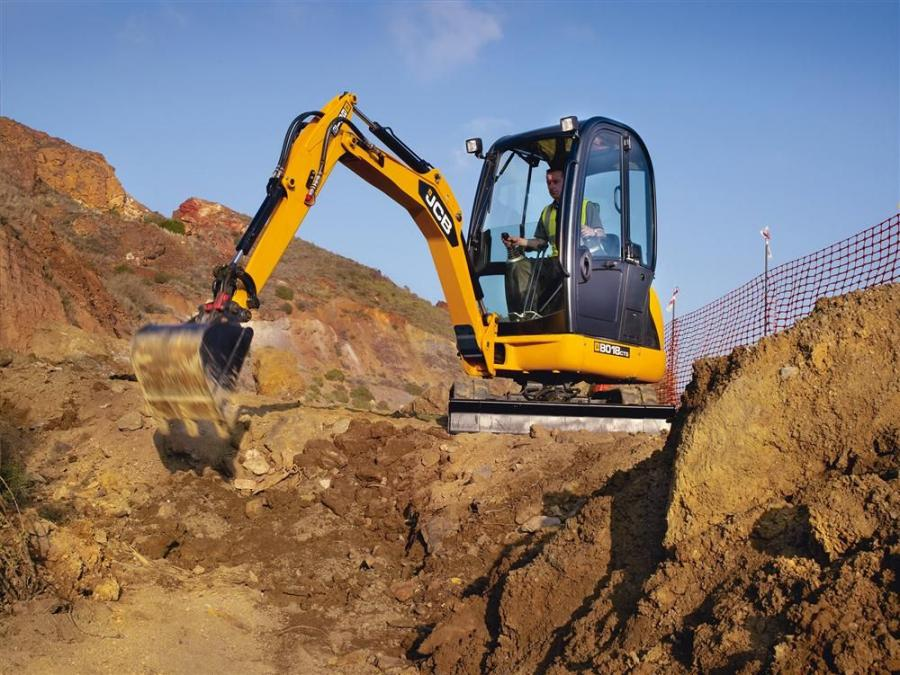 Digging depth has been increased by 11 percent, allowing a maximum dig depth of 8 ft. 1 in. (2.4 m), while dump height also is increased by 2 in. (5 cm) to give a load over height of 8 ft. 9 in. (2.6 m).