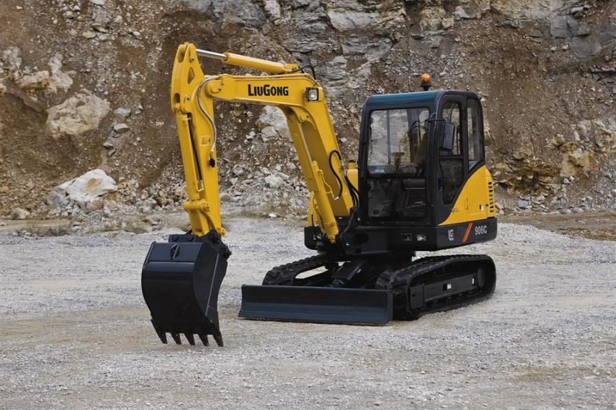 LiuGong's 906C is the first model in LiuGong's excavator line up to carry the Tier IV interim designation.