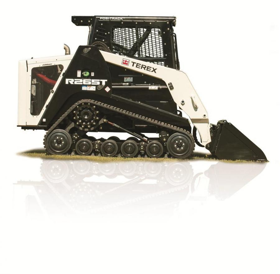 Boasting a narrow machine width (70-in. [178 cm]), the R265T radial lift path compact track loader can easily maneuver and operate in confined or congested work sites, making it an ideal loader for rental stores and contractors working in site preparation