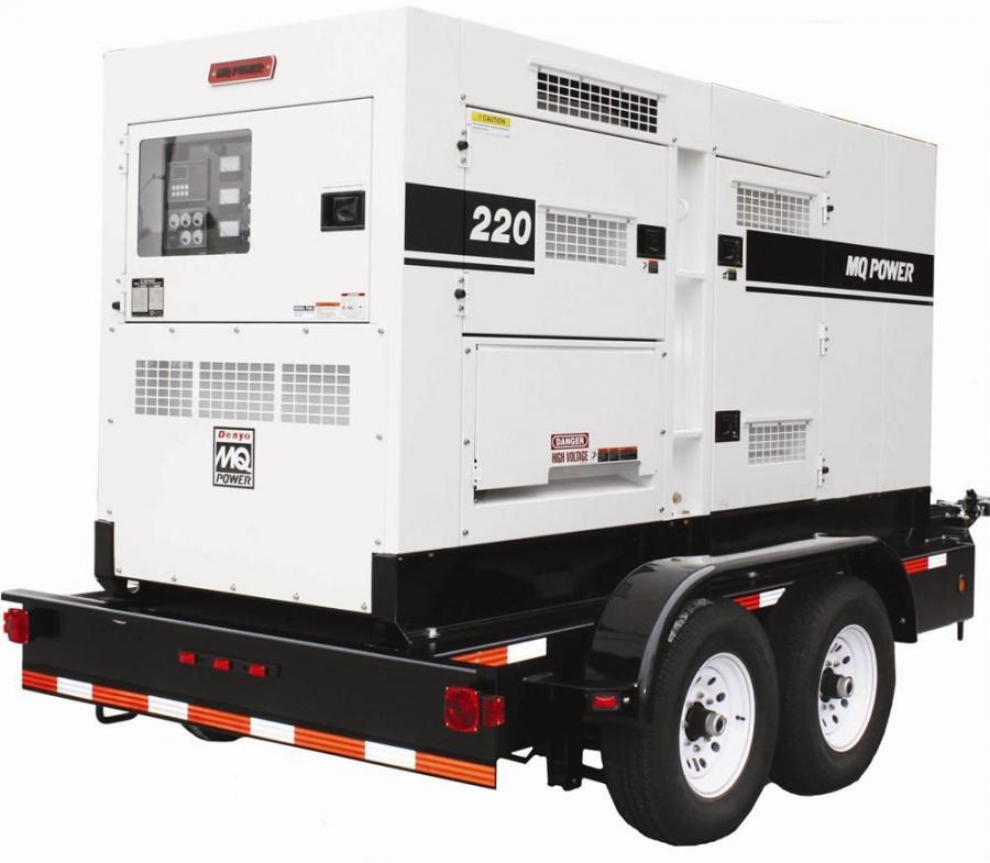 The DCA150SSC (150Kva), DCA180SSC (180Kva), DCA220SSC (220Kva) and DCA300SSC (300Kva) are equipped with a diesel particulate filter (DPF) to trap particulate matter, or soot, from the diesel engine exhaust.