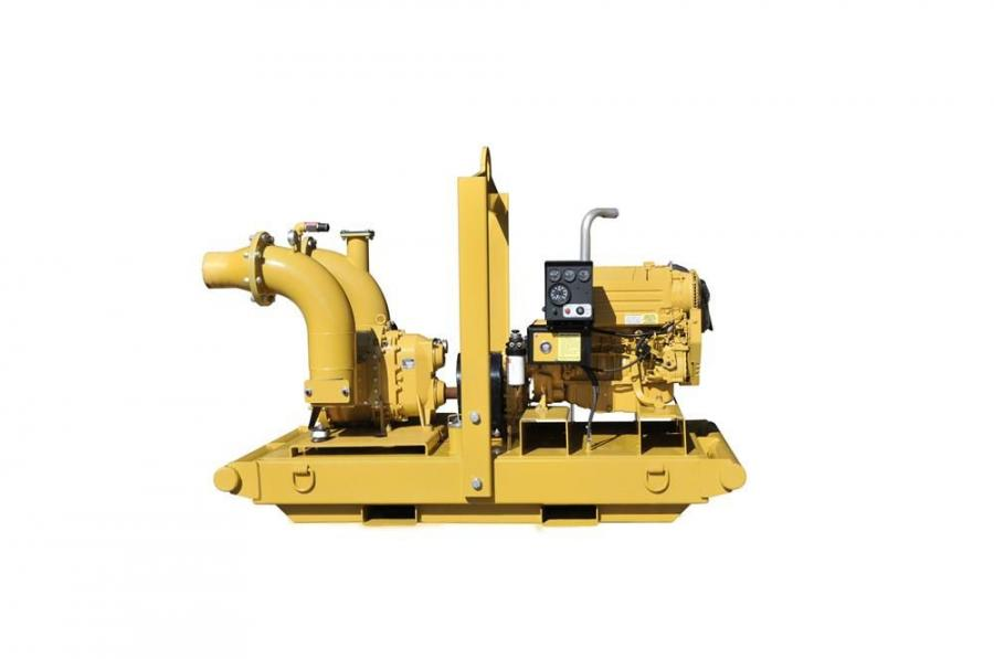 The RL-200 8 in. (20 cm) pump features a maximum of 210 hours of operating time at 1,800 rpm from its 125 gal. (473 L) tank.