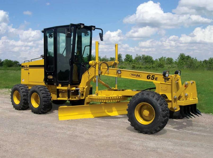 The latest version of the 65E compact motorgrader features Tier III emission compliant engines.