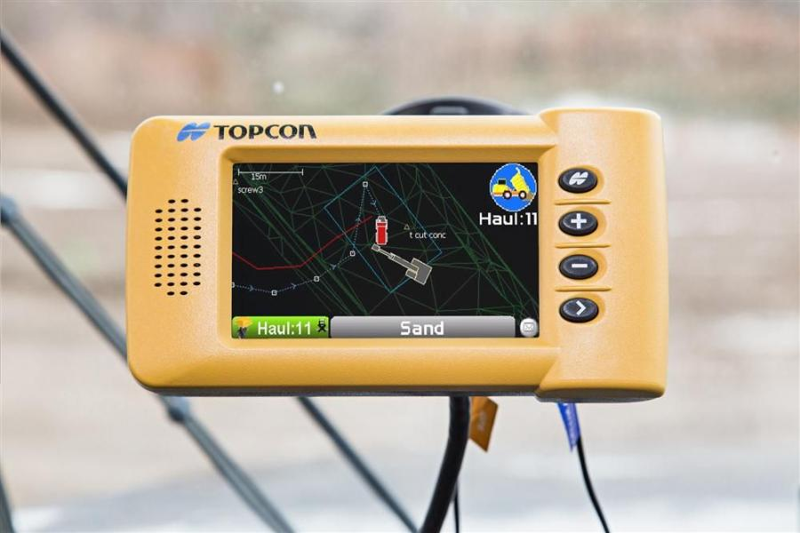The system features a small, portable GPS-enabled control box that mounts into the truck cab.