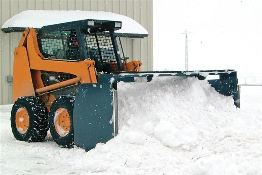 Available in widths ranging from 6 to 16 ft. (1.8 to 4.8 m), the FFC snow push can move up to 21 cu. yds. (16 cu m) of snow at one time.