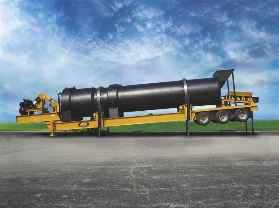 The EX Series asphalt plants produce 100 to 425 tons (91 to 385 t) per hour.