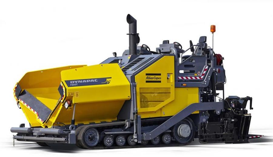 Atlas Copco's F800T tracked paver is the newest addition to its highway class pavers and enhances productivity through operator comfort and high visibility.