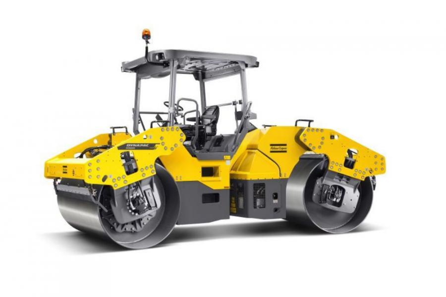 The Atlas Copco CC6200 tandem roller is fast and simple to maintain with easily accessible parts.