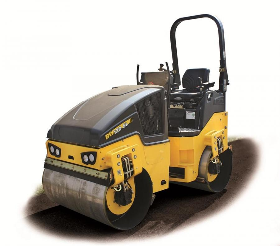Offering 0.020-in (.05 cm) amplitude, the new BW120SL-5 roller generates 8,993-lb. (40 kN) centrifugal force to deeply penetrate asphalt and base materials. Operators can select either manual vibration or intelligent vibration control (IVC), designed to d