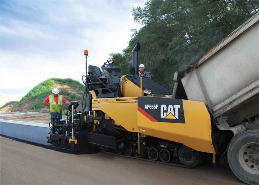 The AP600F and AP655F are equipped with a 173 hp (129 kW) Cat C4.4 ACERT engine, which meets U.S. EPA Tier IV Final emissions standards.