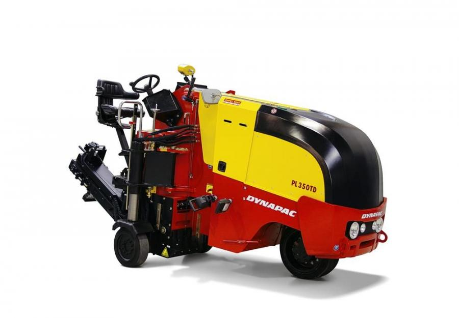 The new Dynapac PL350TD compact planer.
