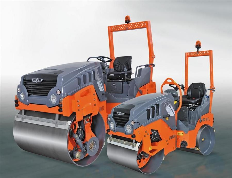 Hamm Compaction Division relaunched its Compact Line series of small asphalt rollers — with significant changes.