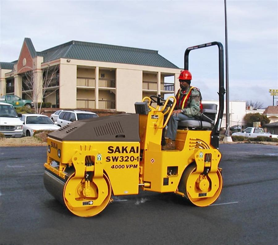 SAKAI America's 300 Series rollers consist of three small double drum steel and two combination steel/pneumatic tire roller models, all of which boast a high frequency of 4,000 vpm.