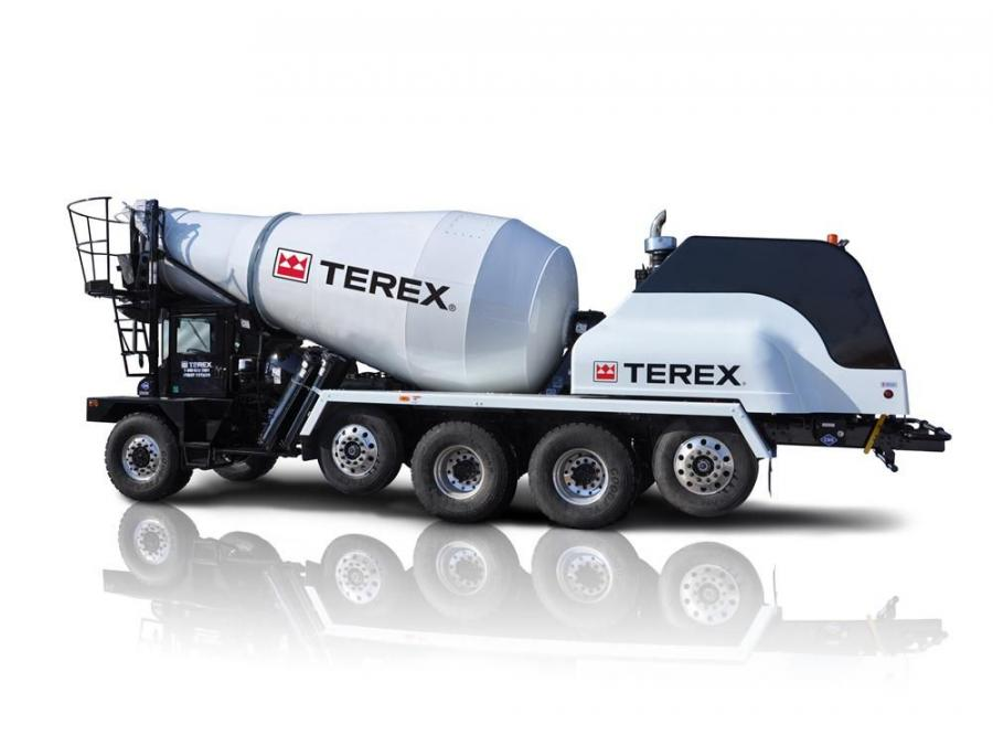 "The Terex FD5000 ""Great Lakes"" front discharge mixer truck is the first Terex mixer truck powered by a compressed natural gas (CNG) engine."