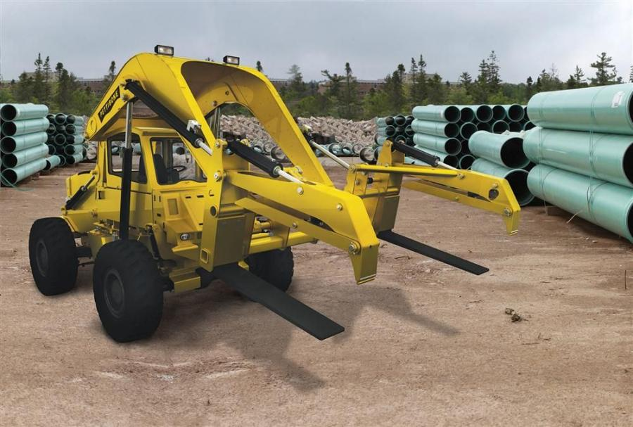 The new 154 retains Pettibone's overhead lift arm design, giving the operator full front visibility when lifting, placing or transporting loads.