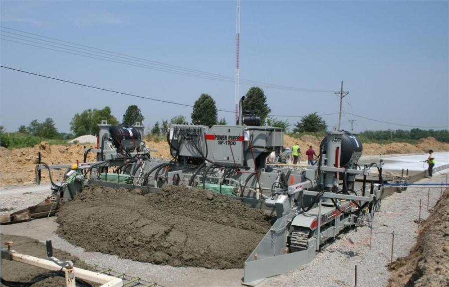1. The frame of the SF-1700 is based on Power Paver's current leading machine, the SF-2700.
