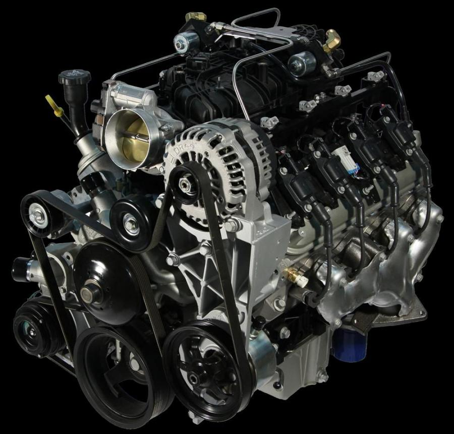 Rugged Engines Combine Cast Iron Strength, Aluminum