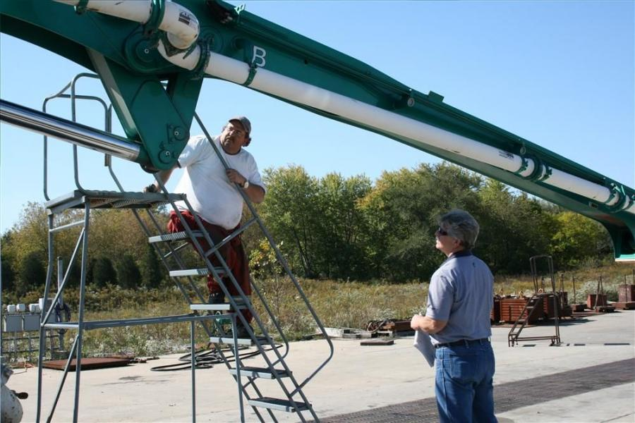 Putzmeister America Inc. will once again offer structural inspection course part II, as part of its 2012 service school lineup.