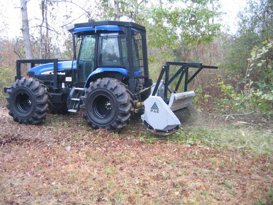 FAE has expanded its line of PTO tractor mounted forestry super duty heads with the UML/DT 200 — 79 in. (200 cm) cutting width — and UML/DT 225 — 89 in. (226 cm) cutting width.