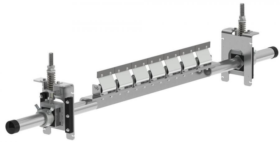 Four of Flexco's belt conveyor cleaners are now being offered in stainless steel.