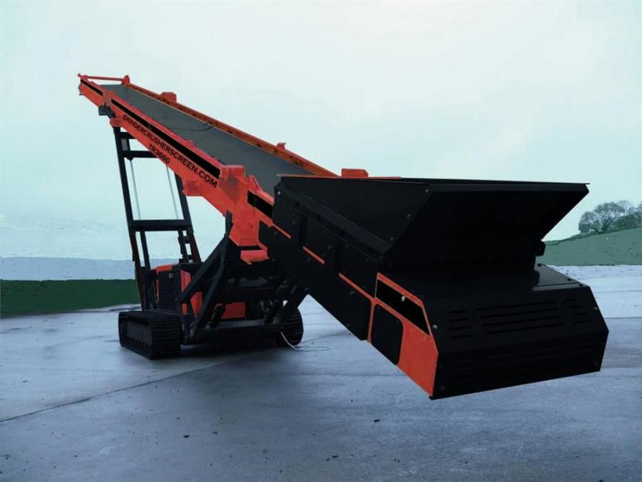 GrinderCrusherScreen.com has three new track mounted conveyors: the TR3650, the TR3660 and the TR4265.