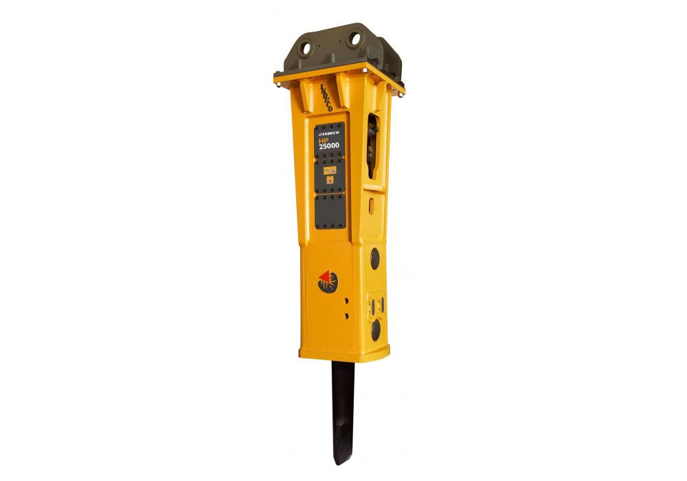 Indeco Expands HP Series With Largest Hydraulic Breaker