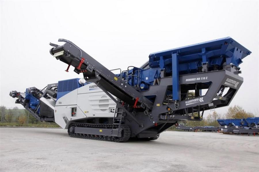 The MR 110 ZSi EVO 2 has a crusher inlet opening of 43.3 in. (110 cm), and the MR 130 ZSi EVO 2 a crusher inlet opening of 51 in. (130 cm). These provide feed capacities of up to 350 or 450 tph (317 or 408 t), respectively.