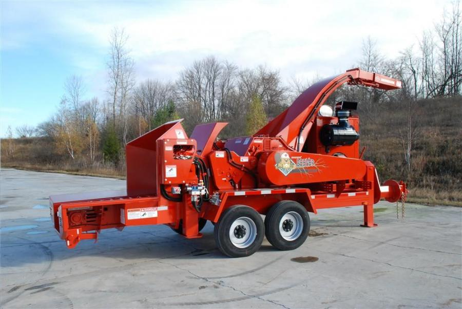 The Beever M20R forestry is an entry-level biomass chipper for reclaiming forestry slash and harvesting tops.