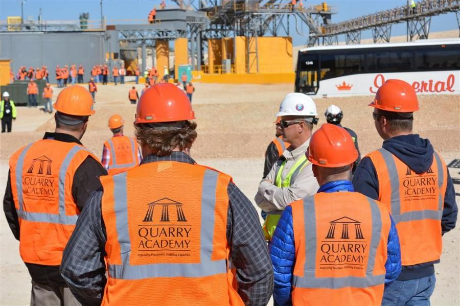 More than 125 people participated in workshops to learn the latest developments in quarrying, safety, lean processes and total value in cost reduction and economic sustainability.