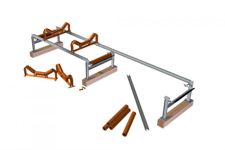 Superior engineers designed the Zipline conveyor to accommodate standard, off-the-shelf conveyor components.