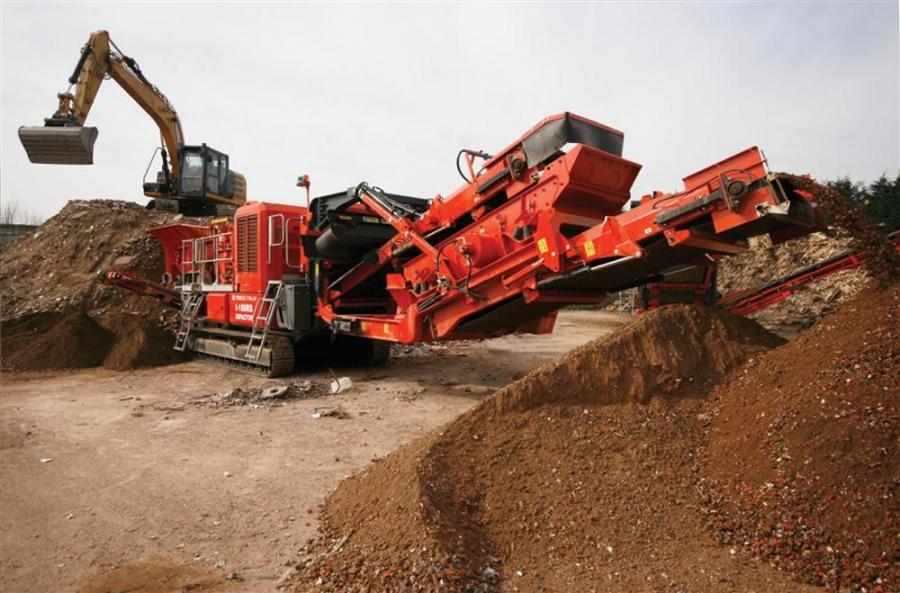 Startup time for the Terex Finlay I-100RS is minimal, with the machine ready for crushing in less than 15 minutes.