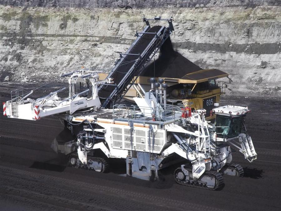 Wirtgen America's 4200 SM selectively mines coal and iron ore, as well as soft to medium-hard rock.