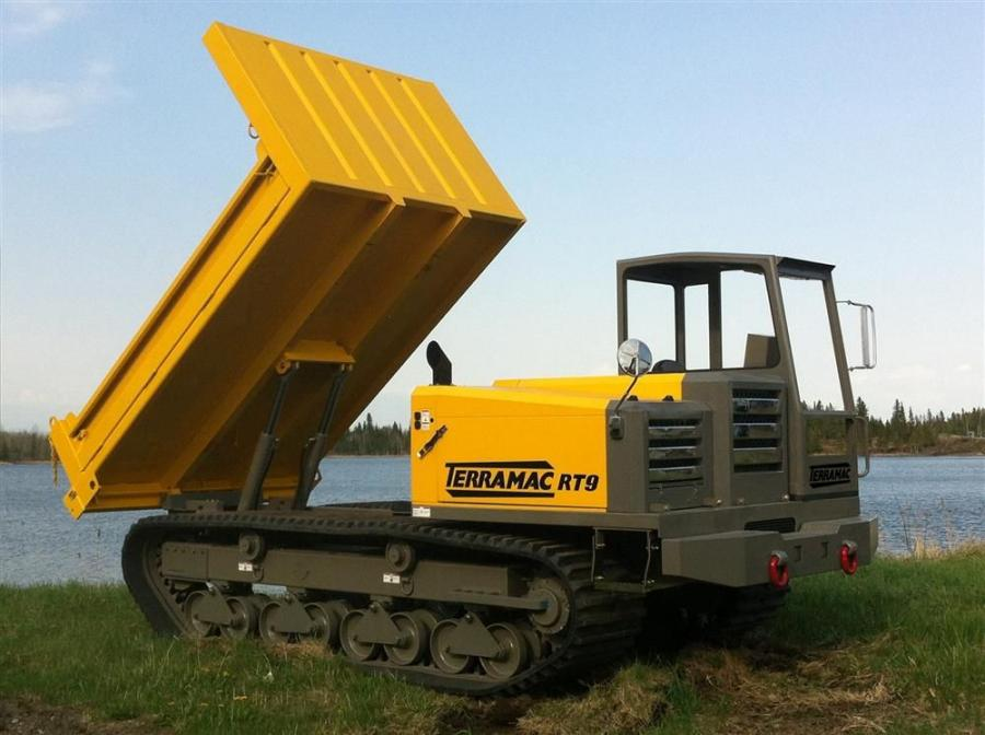 The new Terramac RT9 rubber track carrier from Rig Source Inc
