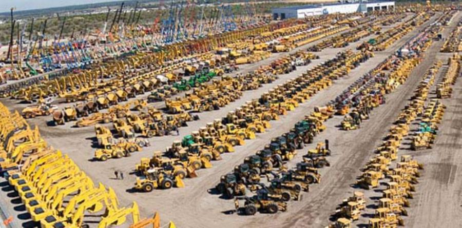 Photo courtesy of Ritchie Bros.  Ritchie Bros. Auctioneers Incorporated sold approximately $3.9 billion of equipment at 328 unreserved auctions around the world in 2012.