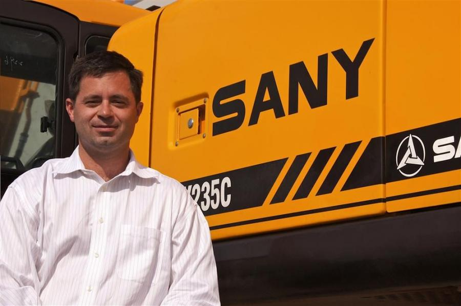 Tim Frank has been named chairman of SANY America Inc. In this newly created position, Frank has overall responsibility for manufacturing, sales, marketing and support for all SANY equipment products in the United States, Canada, Mexico and Central Americ