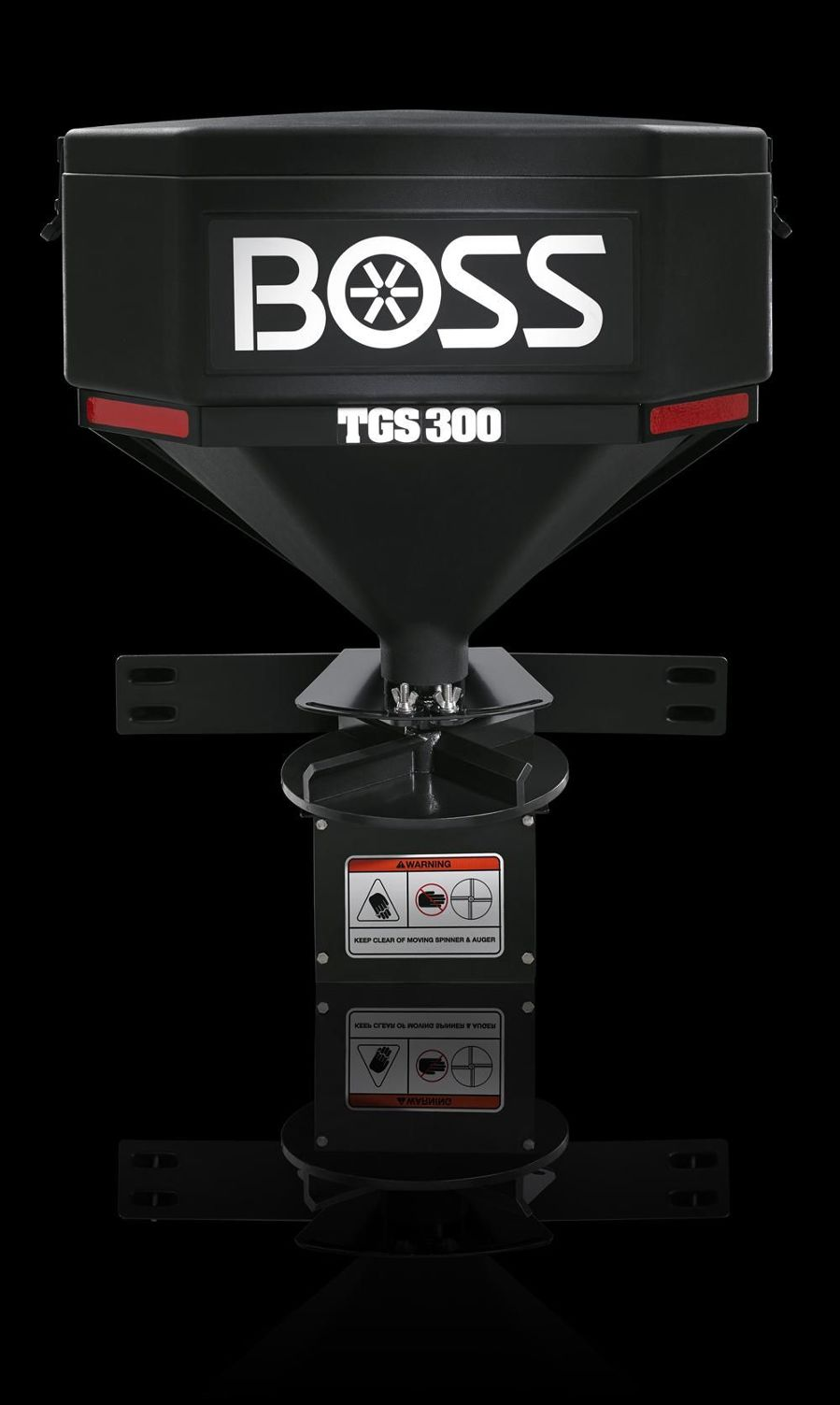 The TGS 300 is powered by a 12-volt electric high-torque motor for consistent performance, reliability and durability.