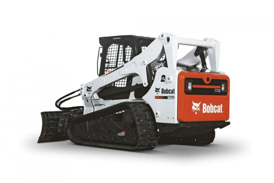 The T770 joins the Bobcat M-Series loader line, which includes the T630, T650 and T870 compact track loaders and the S630, S650 and S850 skid steer loaders.