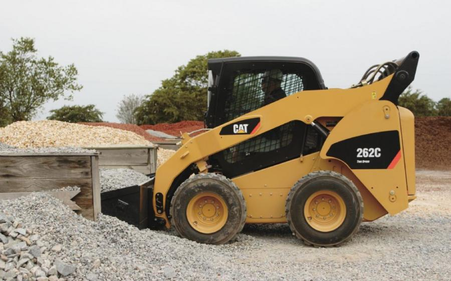 C-Series Skid Steer Loaders Provide Advanced Control | Construction