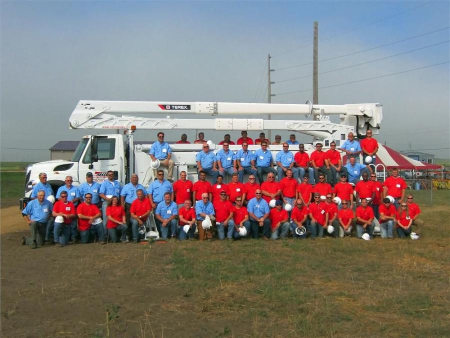 Nearly 40 attendees from around the world recently attended Terex Utilities' 35th annual Hands On Training seminar at its facilities in Watertown, S.D.
