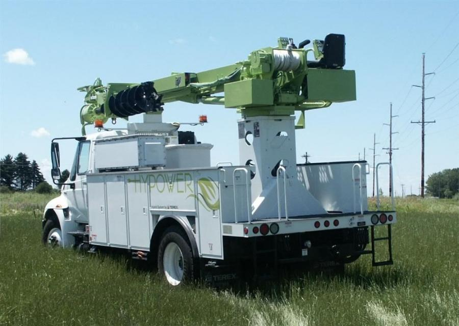 The Terex Utilities plug-in electric hybrid line has been optimized and built for the electric utility, tree care and telecommunications industries.