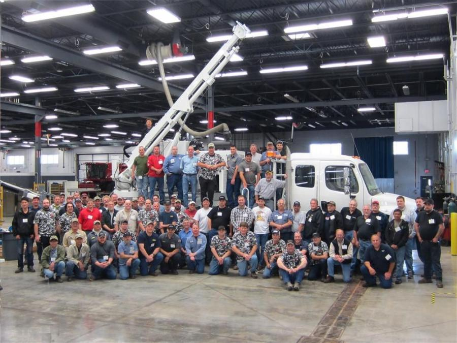The Terex service department hosted 64 people from 16 states and four counties.