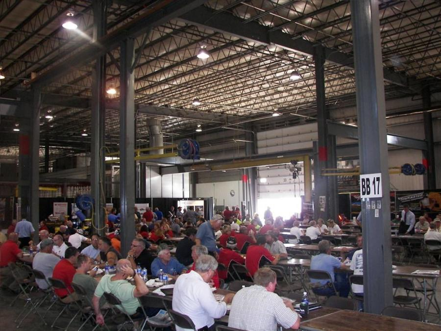 Huge crowds attended the Towmaster 4th Annual Equipment and Education Expo.