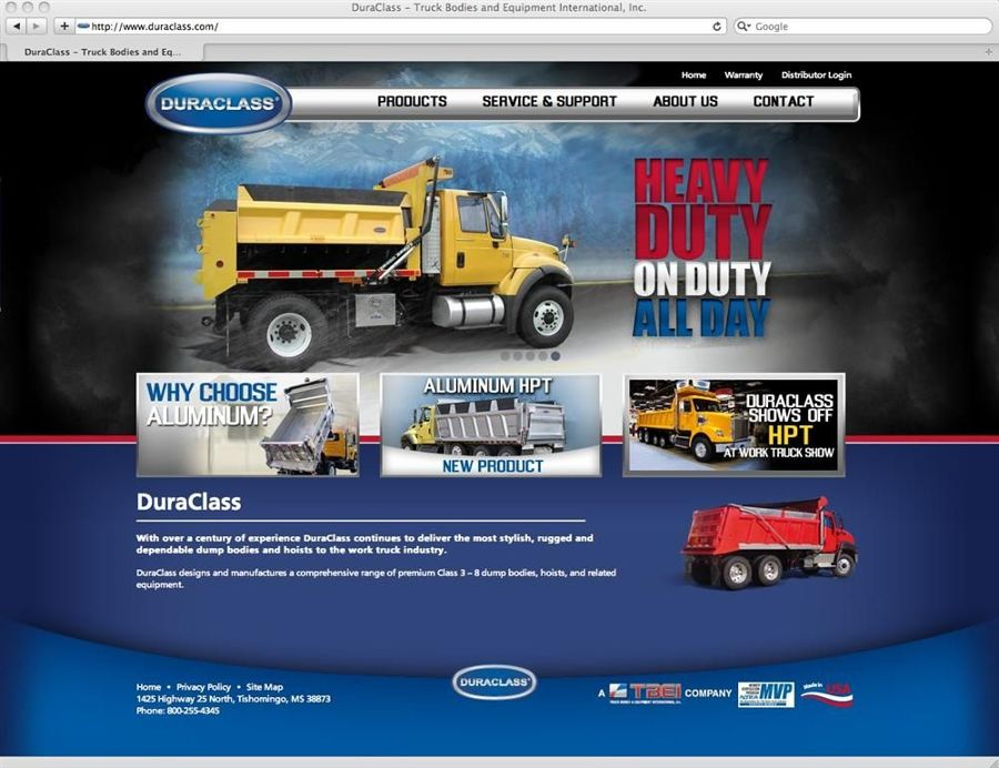 DuraClass recently launched a new interactive Web site.