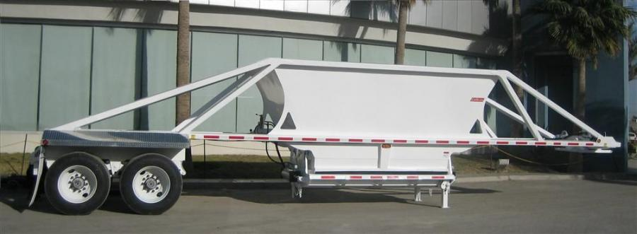 Bottom dump, or belly dump, trailers are popular in areas where terrain or other job site restrictions such as overhead obstacles may pose safety risks with traditional rear-dump trailers.