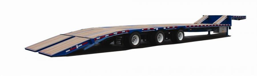 Felling Trailers' air ramp technology is now offered on its over the road semi trailers.