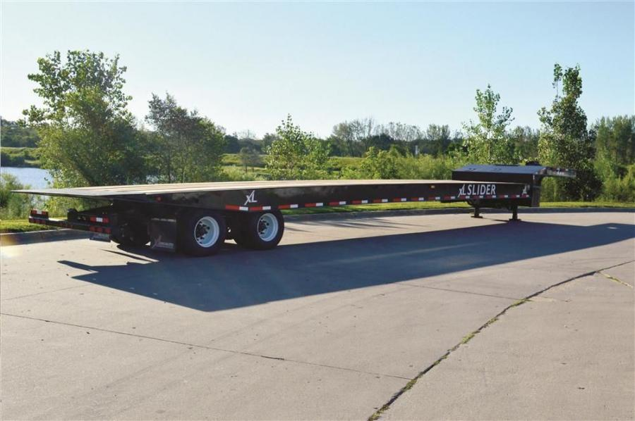 The Slider is named for its sliding axle assembly, which allows the unit to tilt for the loading and unloading of heavy and inoperable equipment.