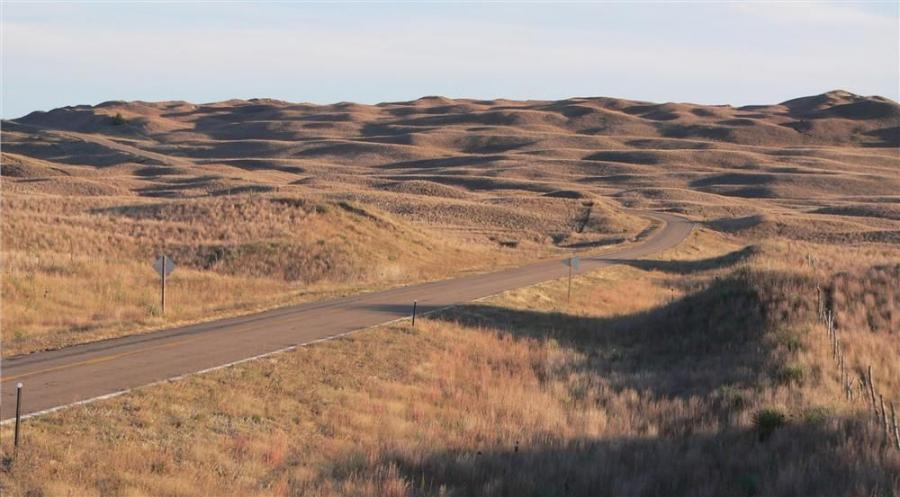 Sand Hills in Hooker County, Nebraska.