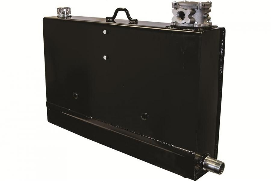 Buyers 36-gal. (136 L)  hydraulic bulkhead reservoir.
