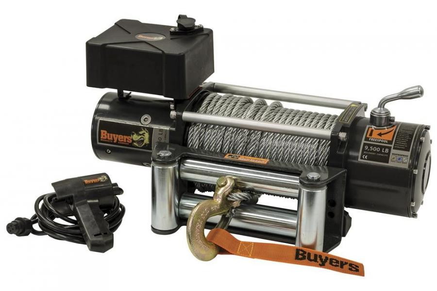 Buyers Products waterproof electric winch model #5579500.